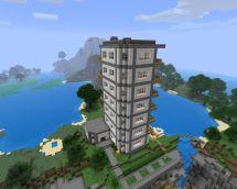 Skyscraper Hotel Minecraft Project