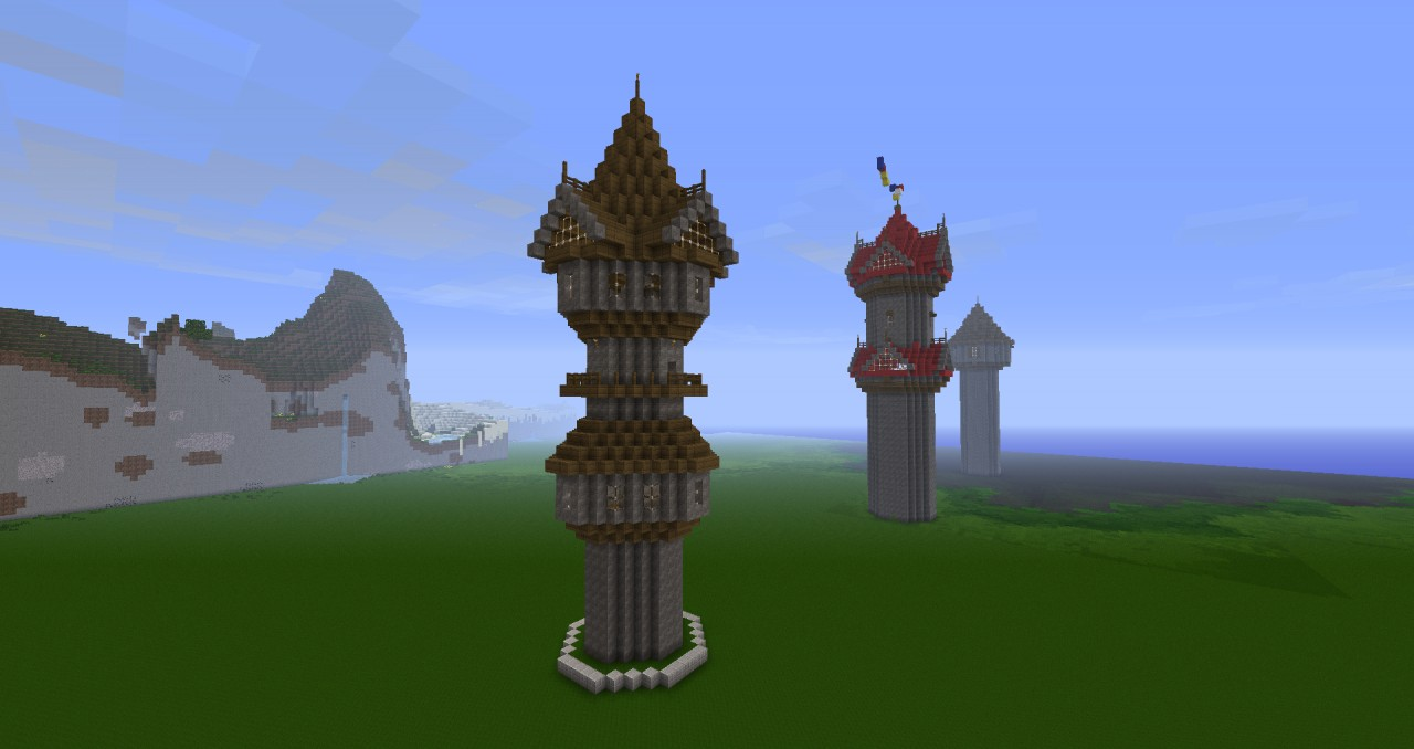 Ravendale Towers  updated Minecraft Project
