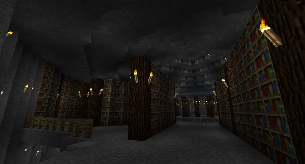 Underground Dwarven City Minecraft Project