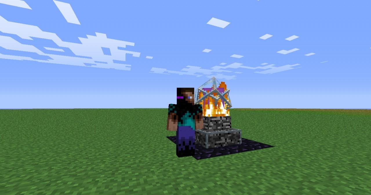 Ender Minecraft Crystal