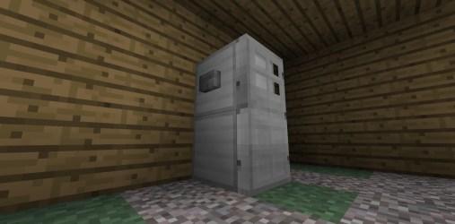 refrigerator minecraft easy useful bathroom diamonds