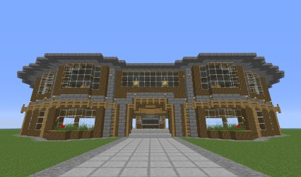 town hall entrance minecraft main map