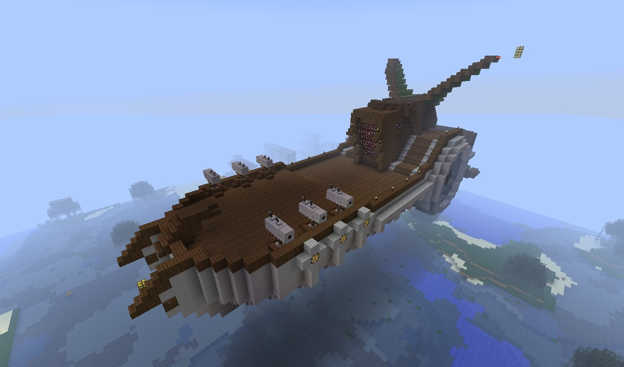 Flying Ship Minecraft Project