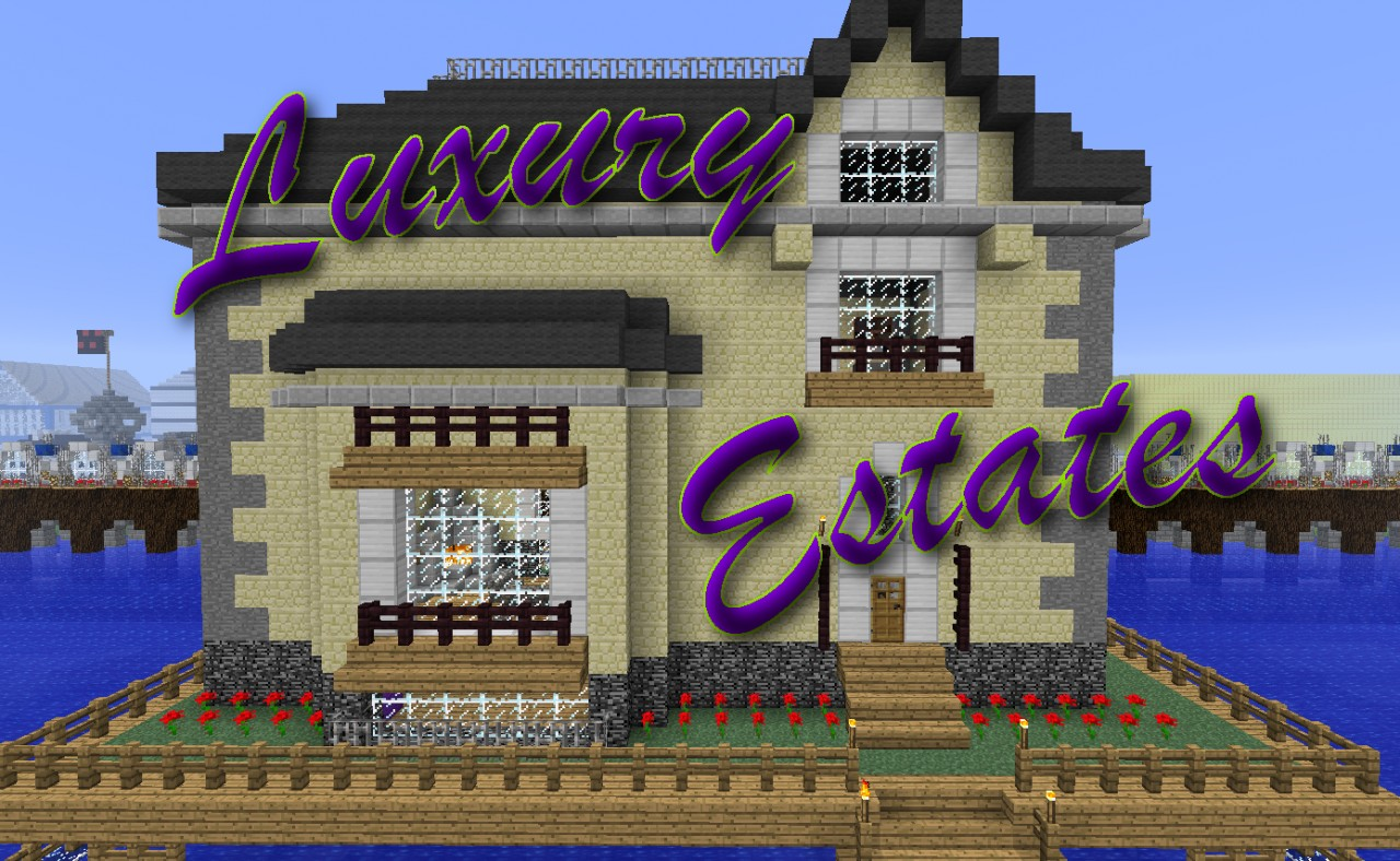 Luxury Estates Vacation Home Minecraft Project