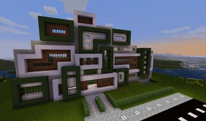 Modern City Montrium Minecraft Map