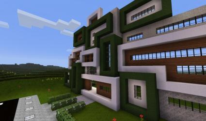 Modern Minecraft Town Hall Ideas