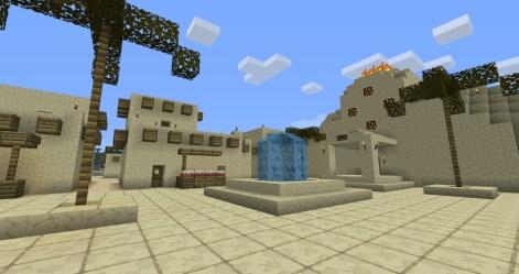 town desert minecraft square deserts edge map