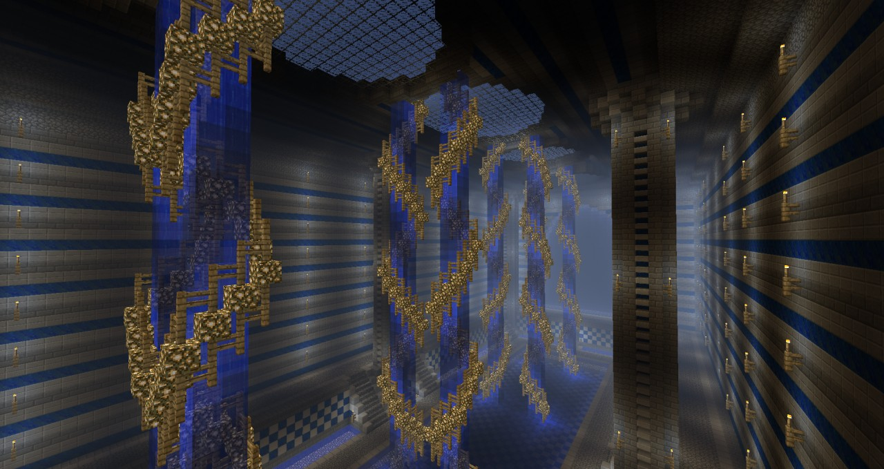 Water Temple Minecraft Project