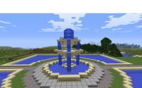 Minecraft Fountain Minecraft Project