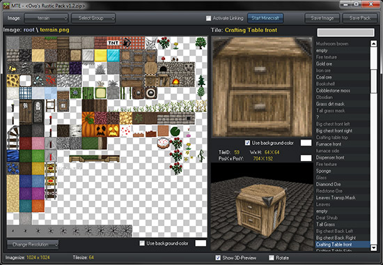MTE Texture Pack Editor Please Read The Description Minecraft Blog