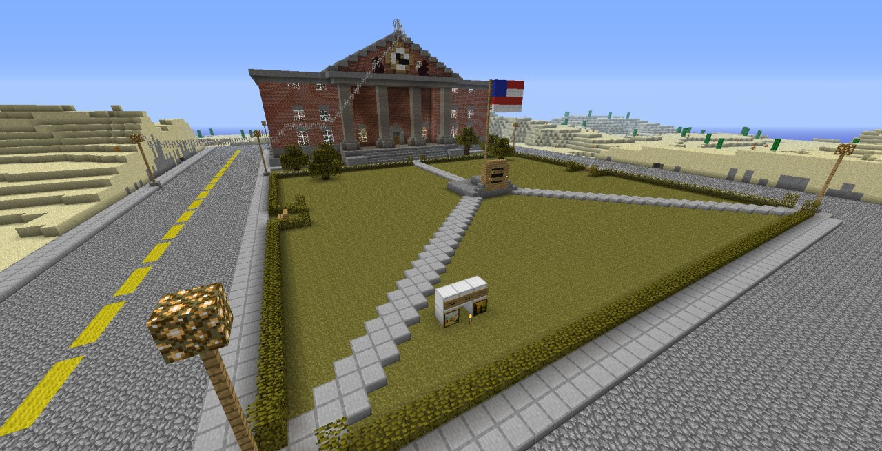 Hill Valley Clock Tower Back To The Future Minecraft Project