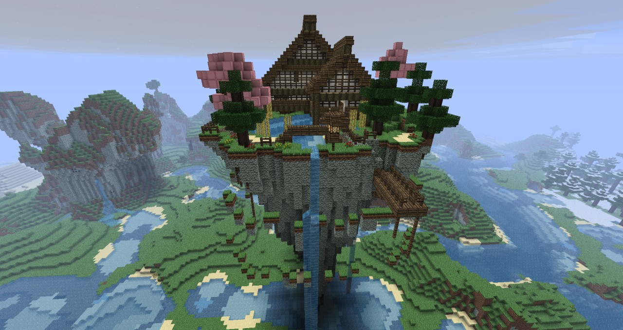 Minecraft Floating House Ideas