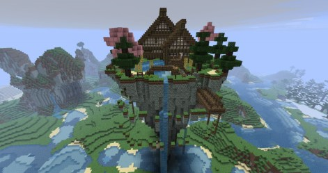 Cute Mystical Minecraft House