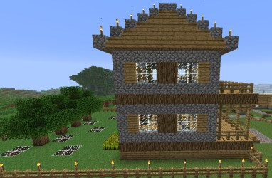 simple minecraft project side