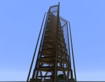 Wooden Hotel Minecraft Project