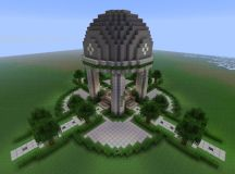 Modern Server Spawn Minecraft Project