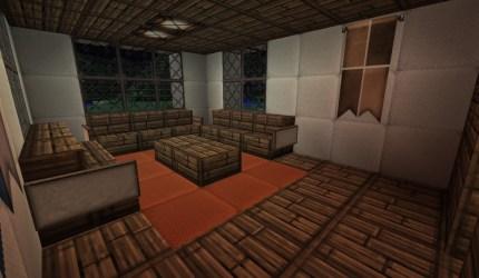 medieval mansion room minecraft sitting