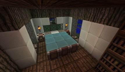 medieval mansion bedroom minecraft