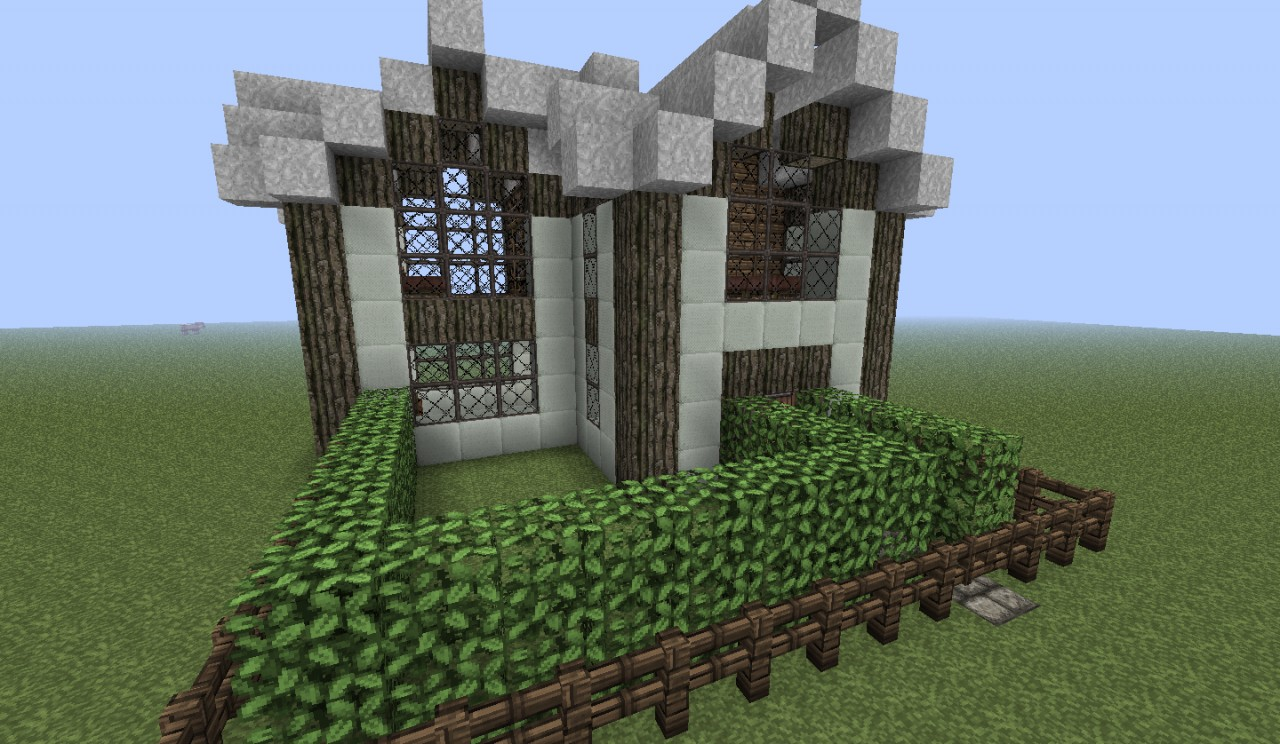 Medieval House Medium Size Minecraft Project