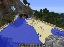 Minecraft Island Resort Project Contest Steve' Secluded