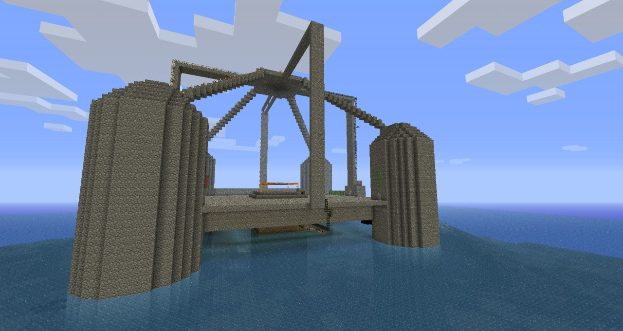 Buildcraft Oil Rig Survival Minecraft Project