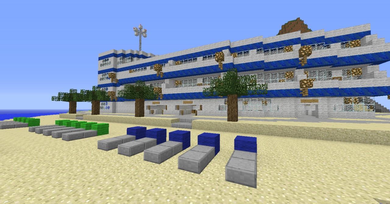 Minecraft Resort Private Island