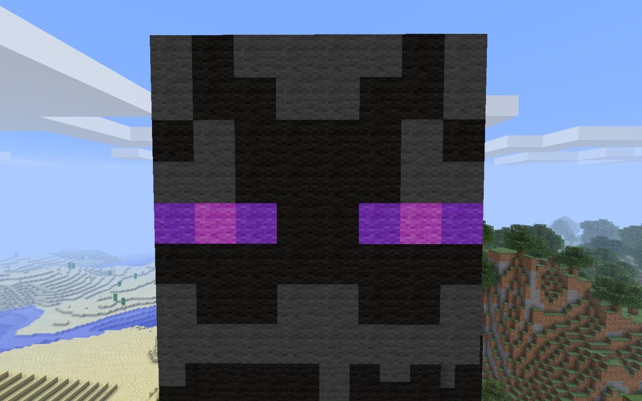 Enderman Statue Minecraft Project