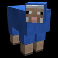 Blue Sheep!?!??!?? Minecraft Blog
