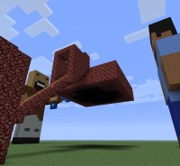 Notch vs. Herobrine- Clay Soldiers Map Minecraft Project
