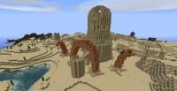 Desert Tower + Worm Minecraft Project