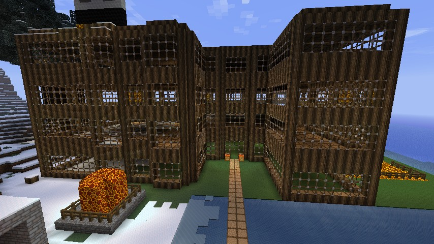 Minecraft Hotel  Lost count of rooms  Minecraft Project