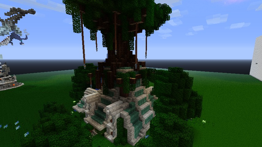 Elven styled House Minecraft Project