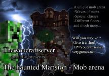Minecraft Awesome Mob Arena - Haunted Mansion