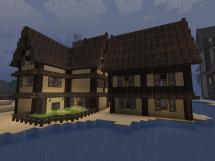 Desert Elven Houses Minecraft Project