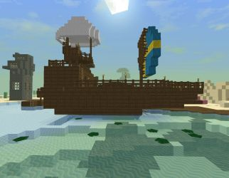 building minecraft project ship pirate planetminecraft
