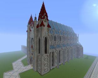 cathedral jcraft minecraft diamonds