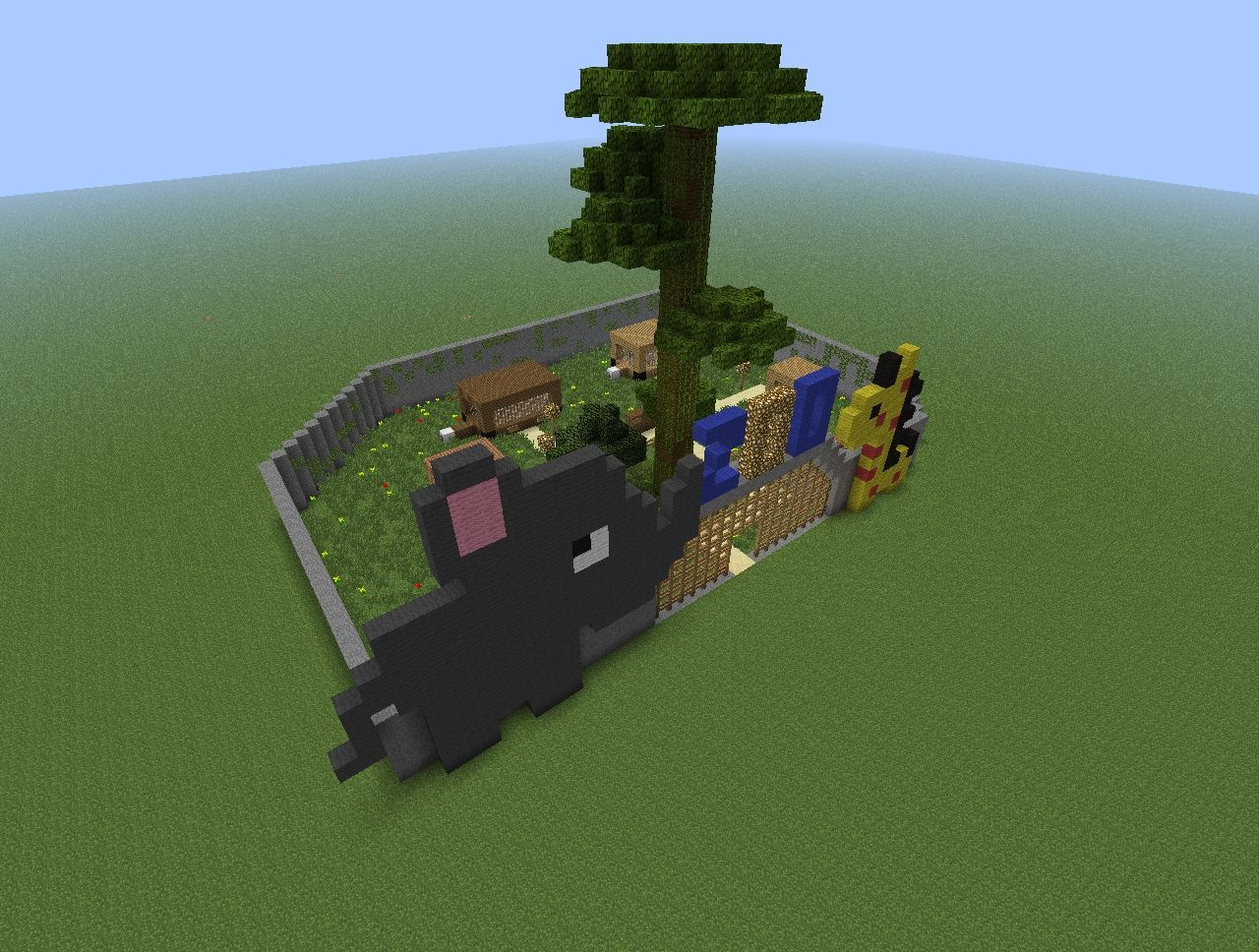Small ZOO Minecraft Project