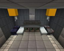 Small Mars Hotel Minecraft Project