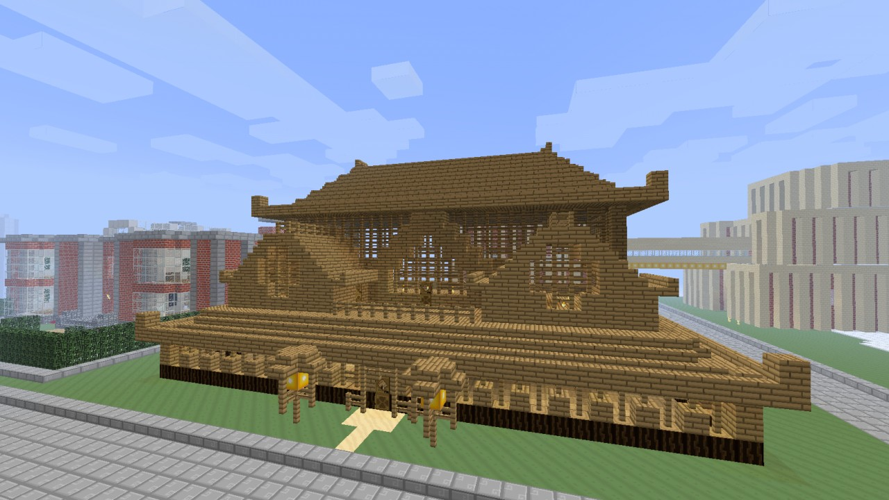 Asian house Minecraft Project