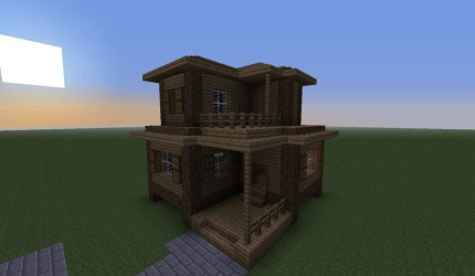 village houses project minecraft