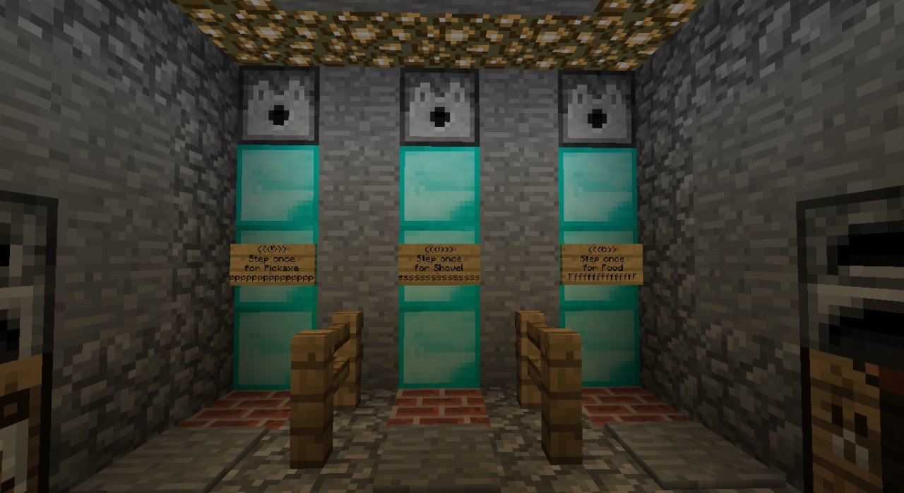 Underground Safe House Minecraft Project