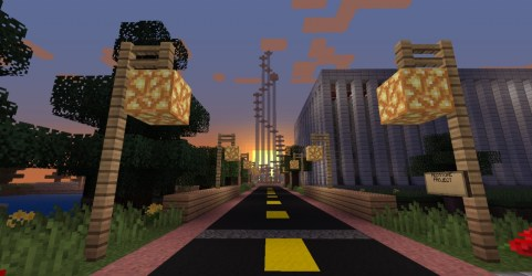 Easy Minecraft Town