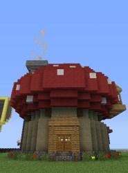 minecraft cute mushroom houses farm cool buildings round designs interior modern planetminecraft fairy amazing project creations maison worlds mine upstairs