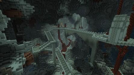 dwarven minecraft cave room
