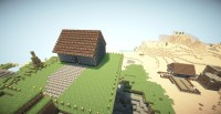 Flying house (With Herobrine mod !!!!!!!!) Minecraft Project