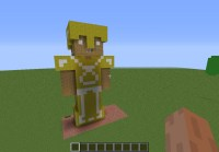 Minecraft Pictures Of Steve With Gold Armor