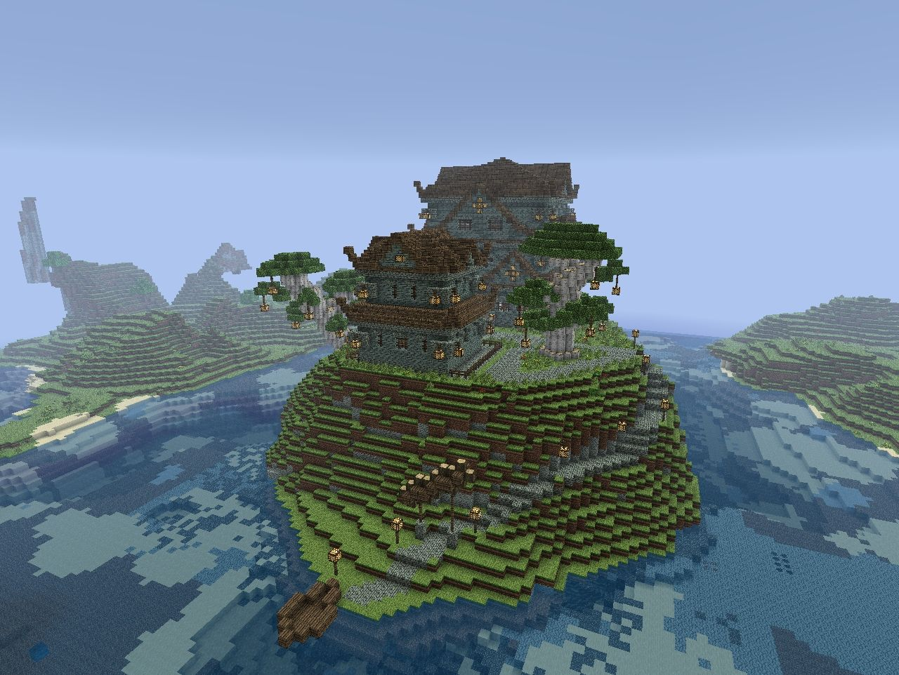 Ocean Castle Minecraft Project