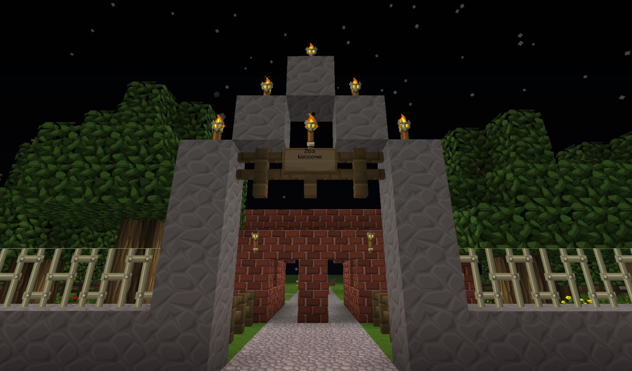 Minecraft Zoo Map