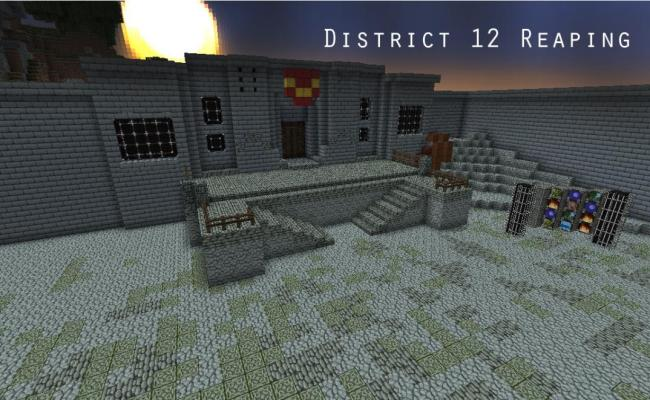 The Hunger Games Adventure Map Minecraft Project