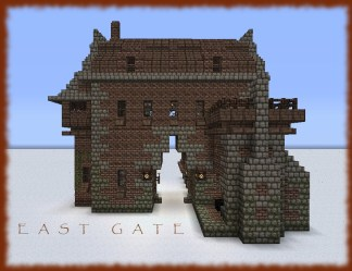 medieval gatehouse gate minecraft forge east open tower better planetminecraft